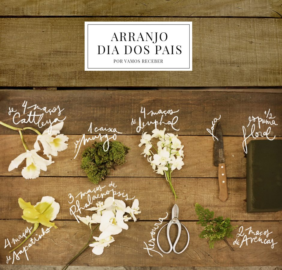 arranjo dia dos pais - 0 ingredientes