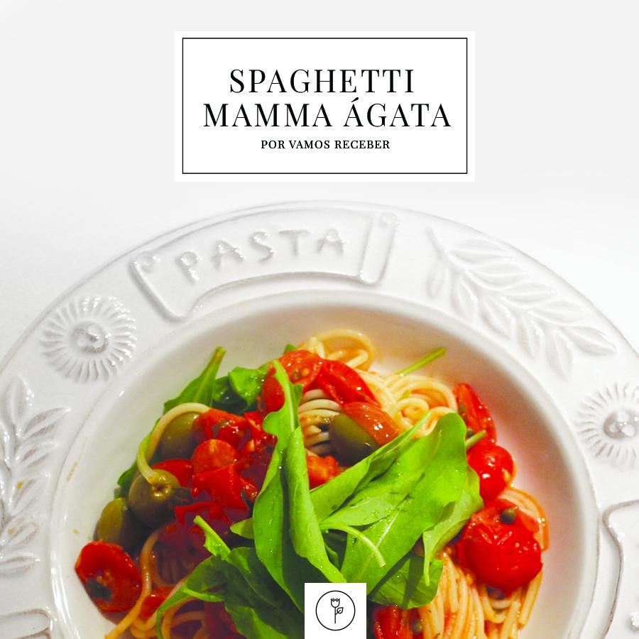 banner spaghetti mamma agata