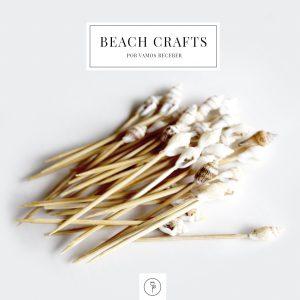 decoração de verão com conchas