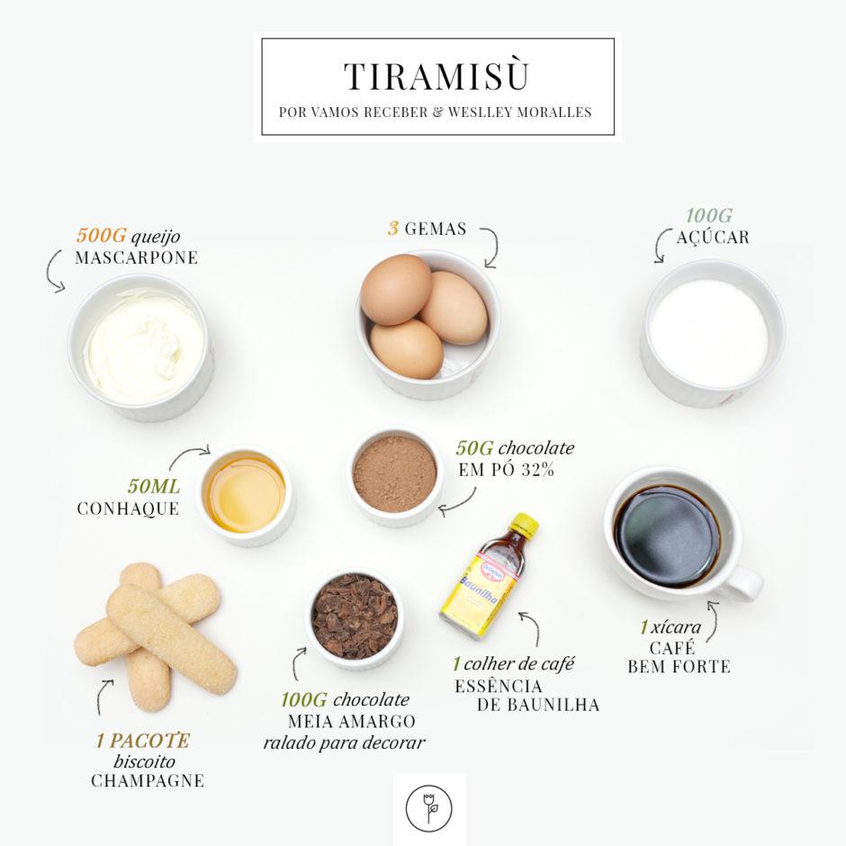 receita de tiramusú sobremesa deliciosa