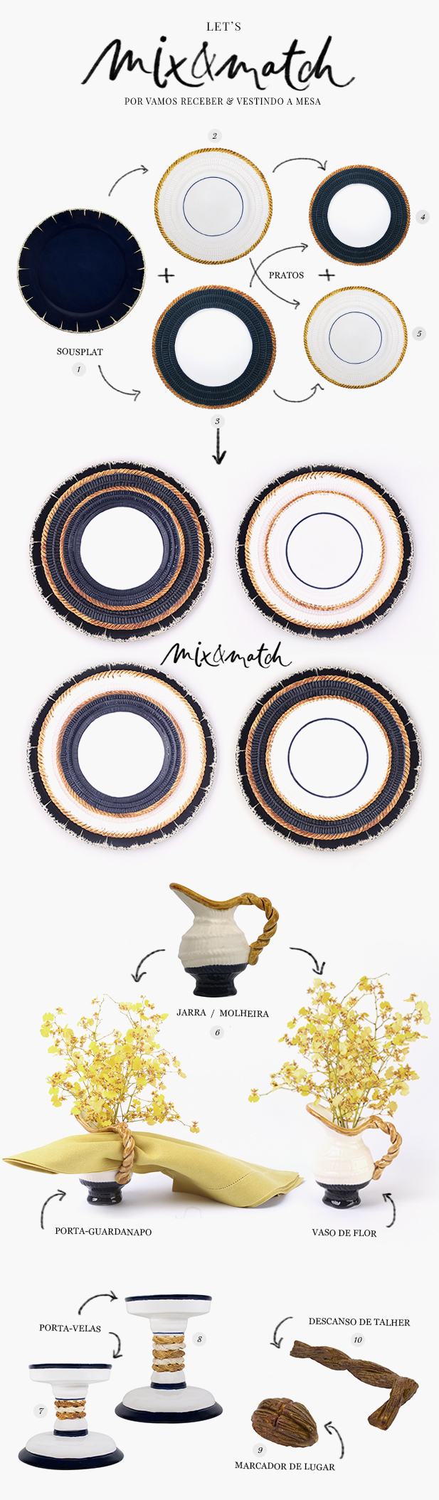 mix & match1 - vestindo a mesa