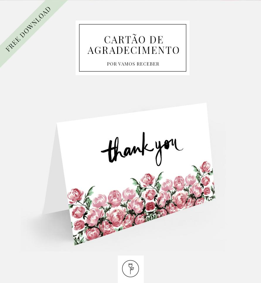 Para Dizer Obrigado Muito Obrigado Vamos Receber