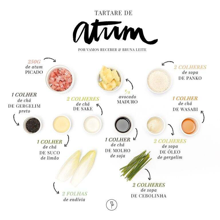 tartar de atum ingredientes