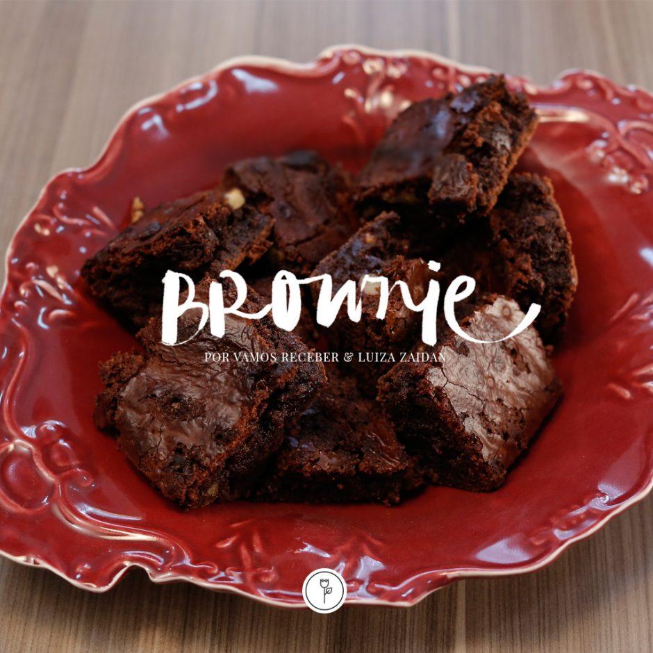 Brownie por Vamos Receber e Luiza Zaidan