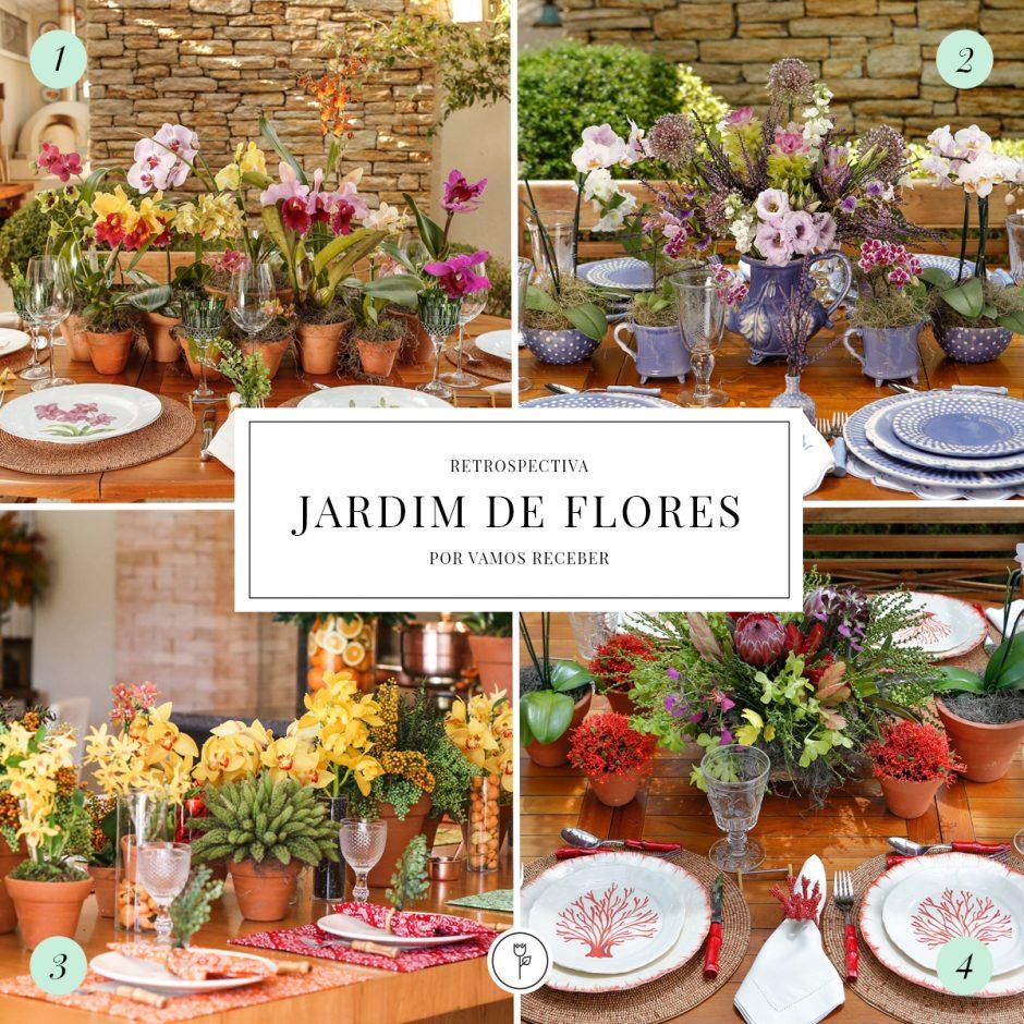 Retrospectiva 2015 - Jardim de Flores