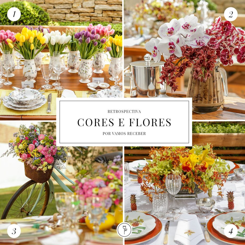Retrospectiva 2015 - Cores e Flores