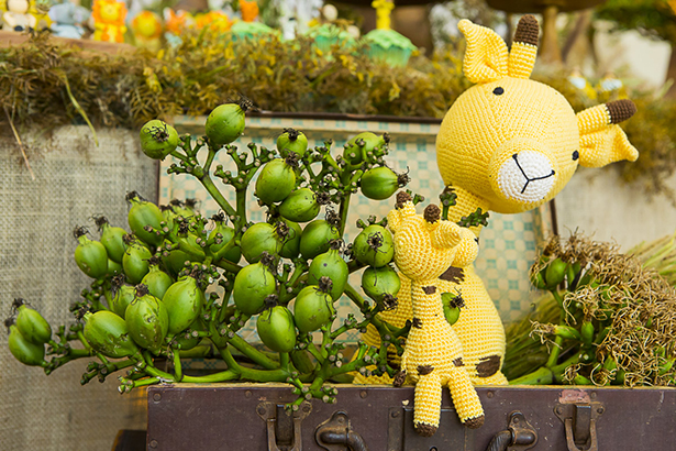 girafas de croche Ella Arts