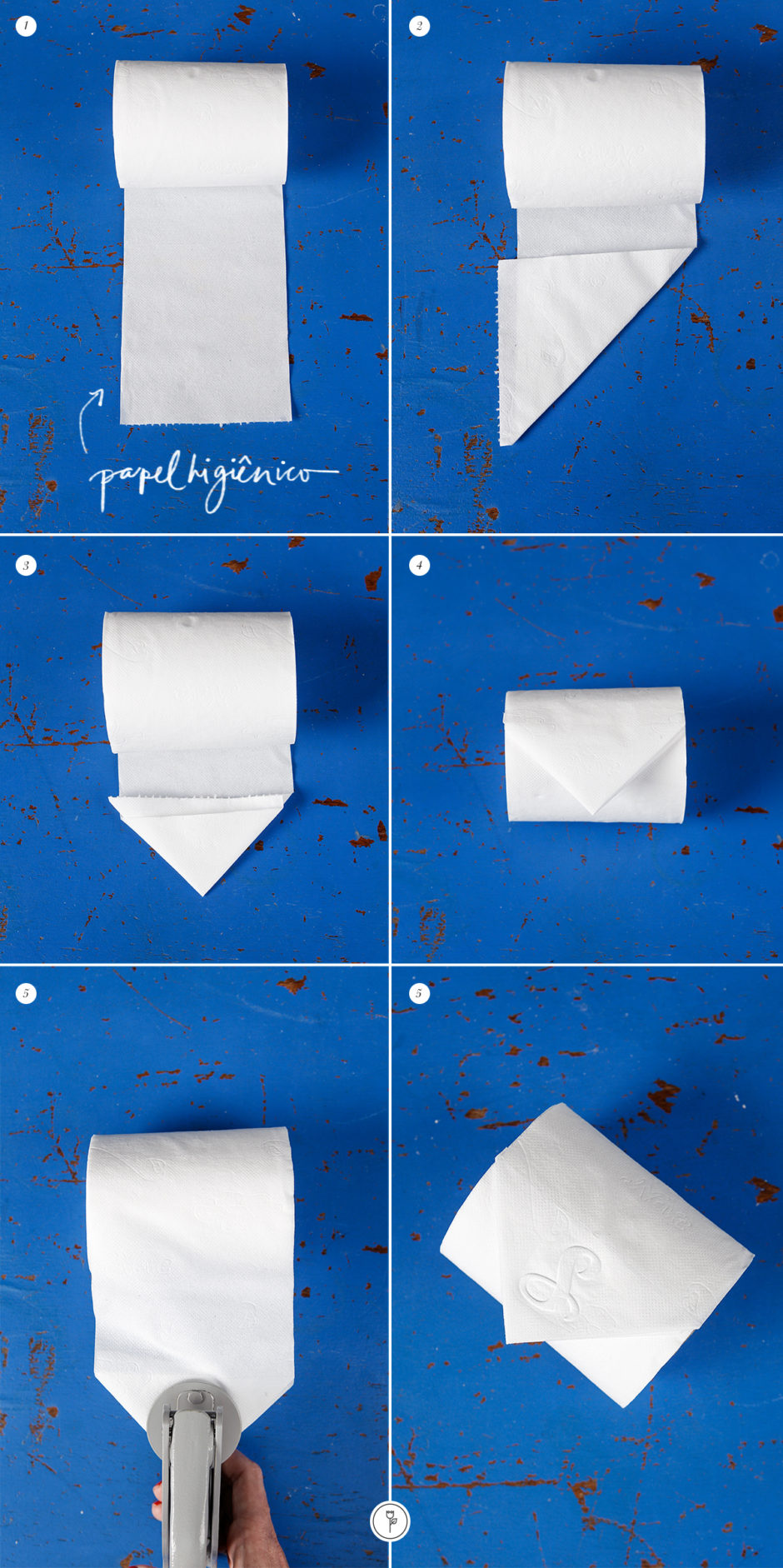 chancela papel higienico