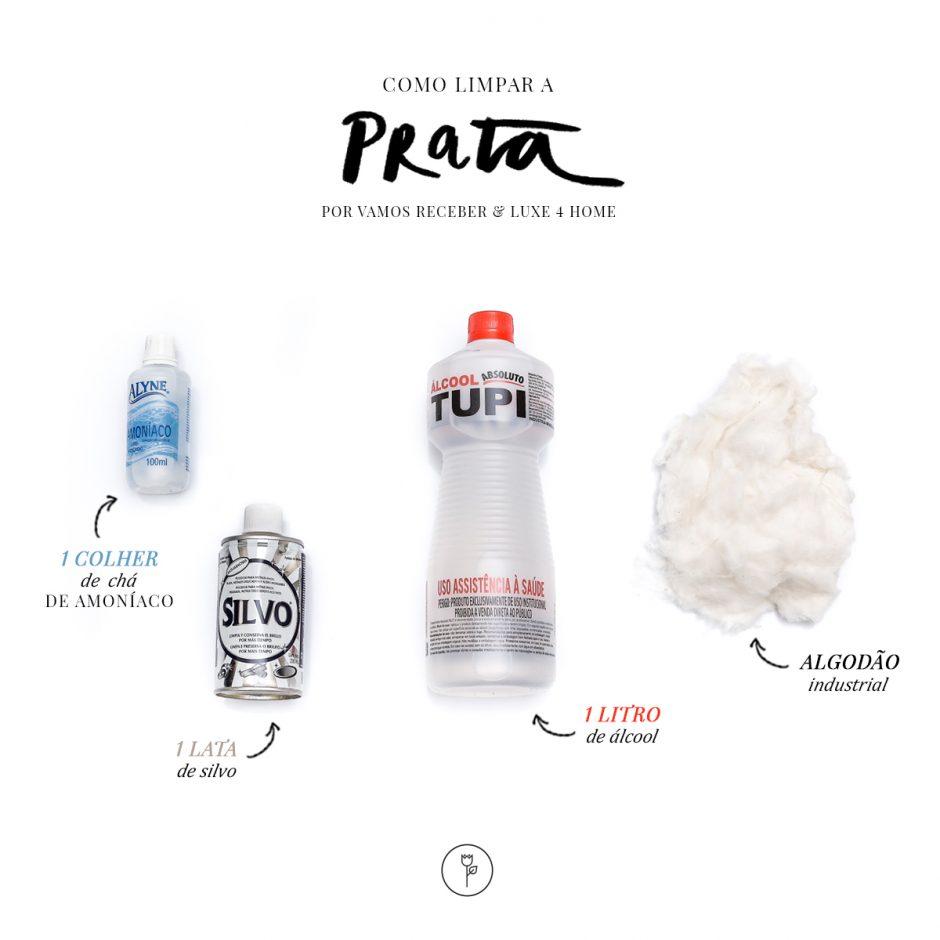 Produtos para Limpar Prata