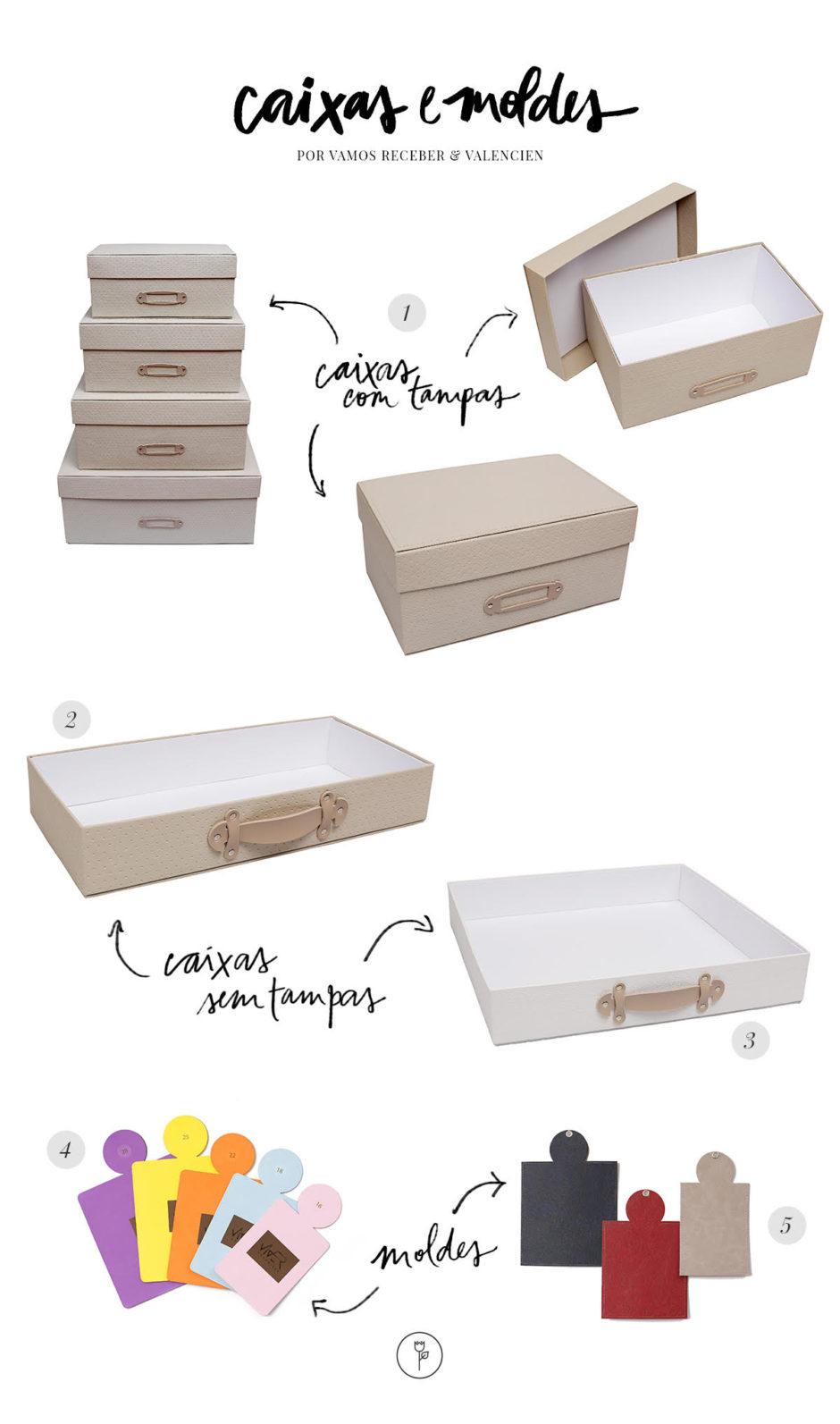 caixas e moldes da Valencien