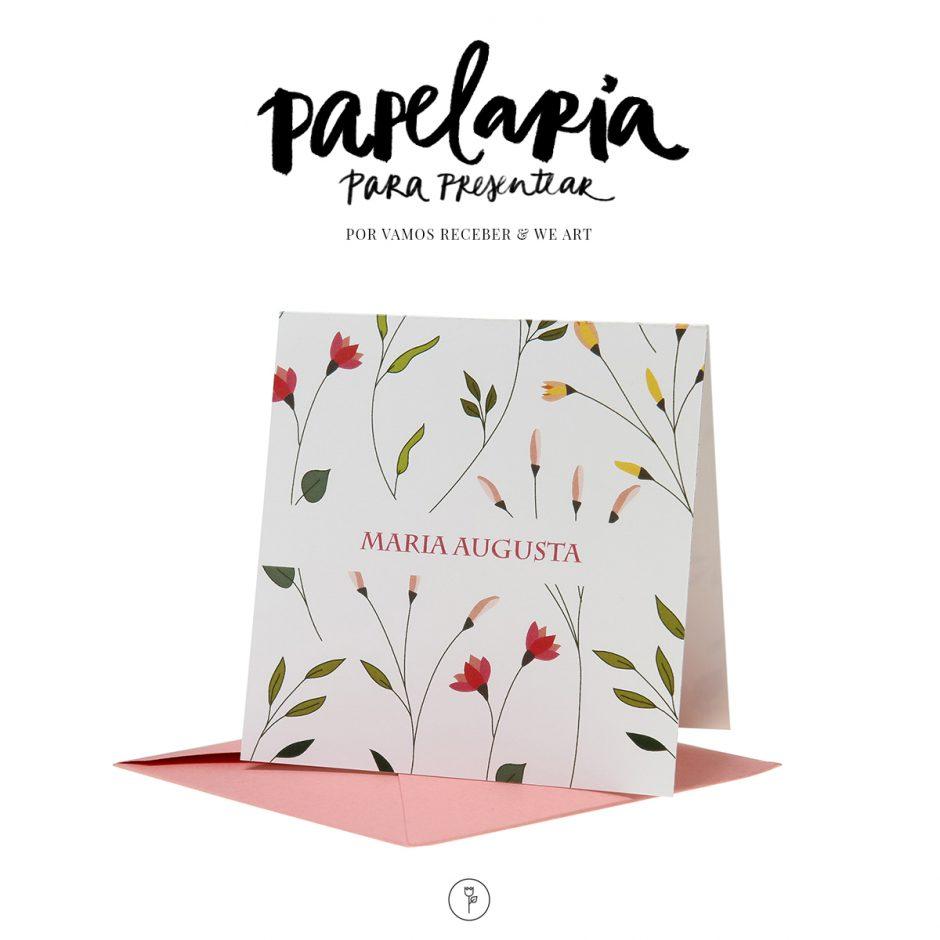 Papelaria - Para Presentear - Cartão e Envelope