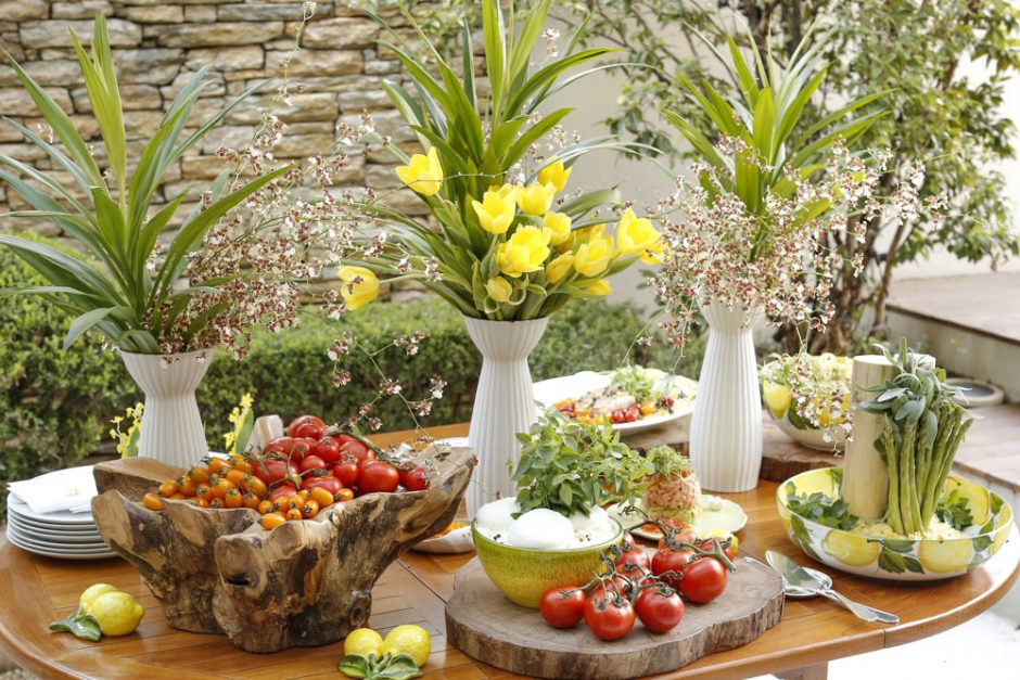 buffet duas gastronomia almoço no jardim