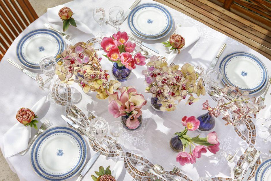 decor mesa para almoço de pascoa