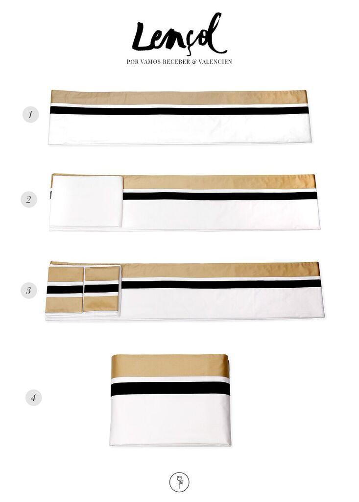 dobradura lencol