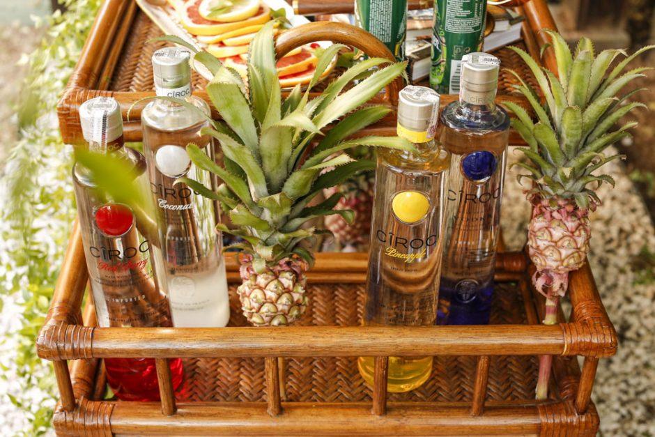 Ciroc e bebidas help bar