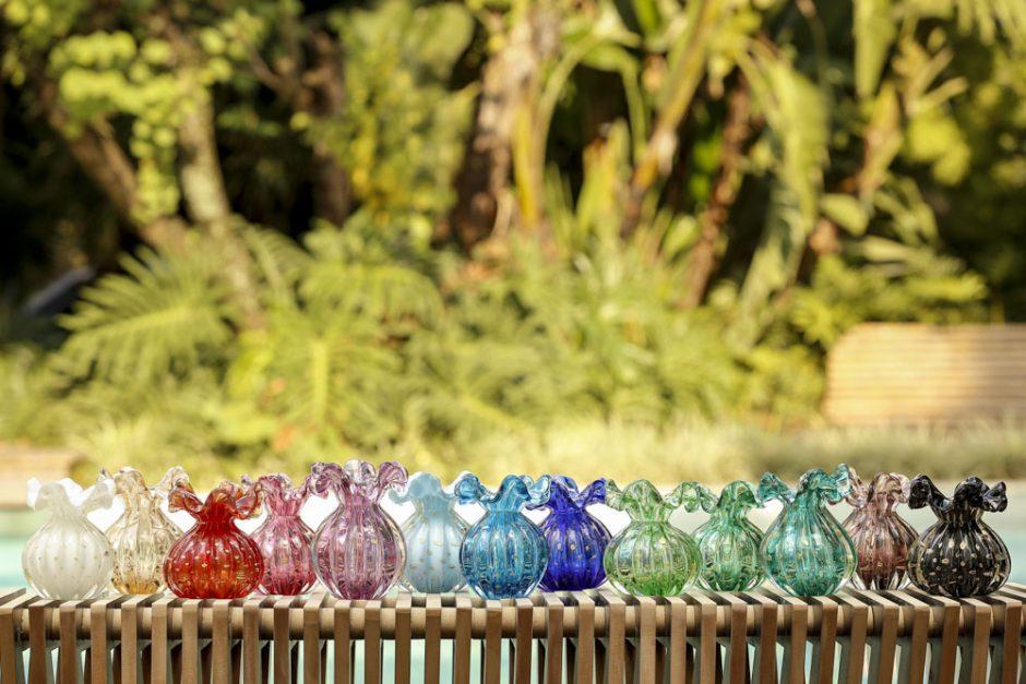 vasos de murano para presentear