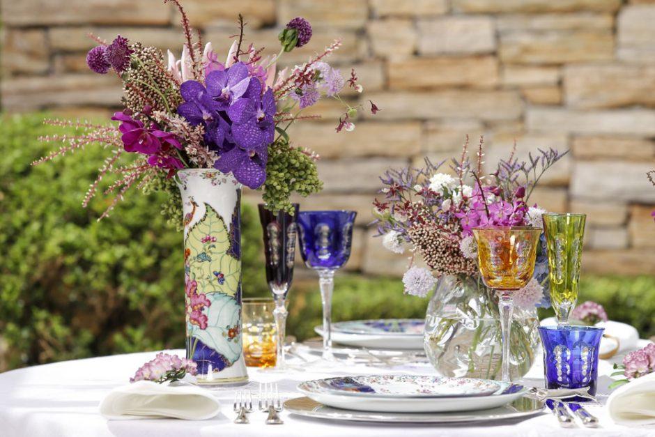 decoracao de mesa colorida