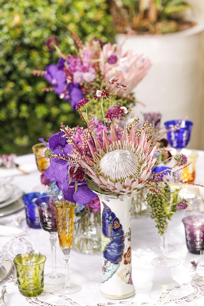 arranjos de flores coloridos Milplantas