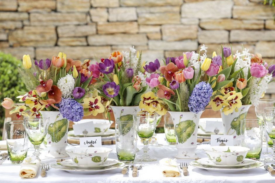 arranjos de flores coloridos da Milplantas