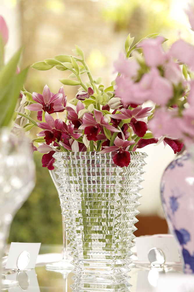 vasos de cristal Theodora Home