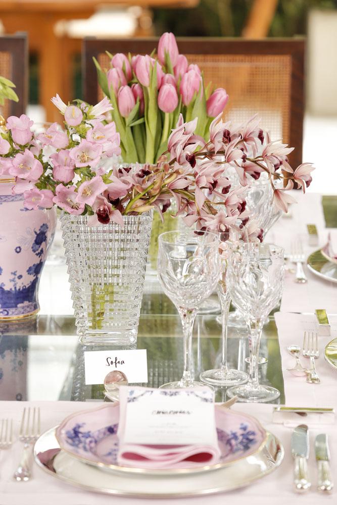 arranjos florais em tons de rosa da Milplantas