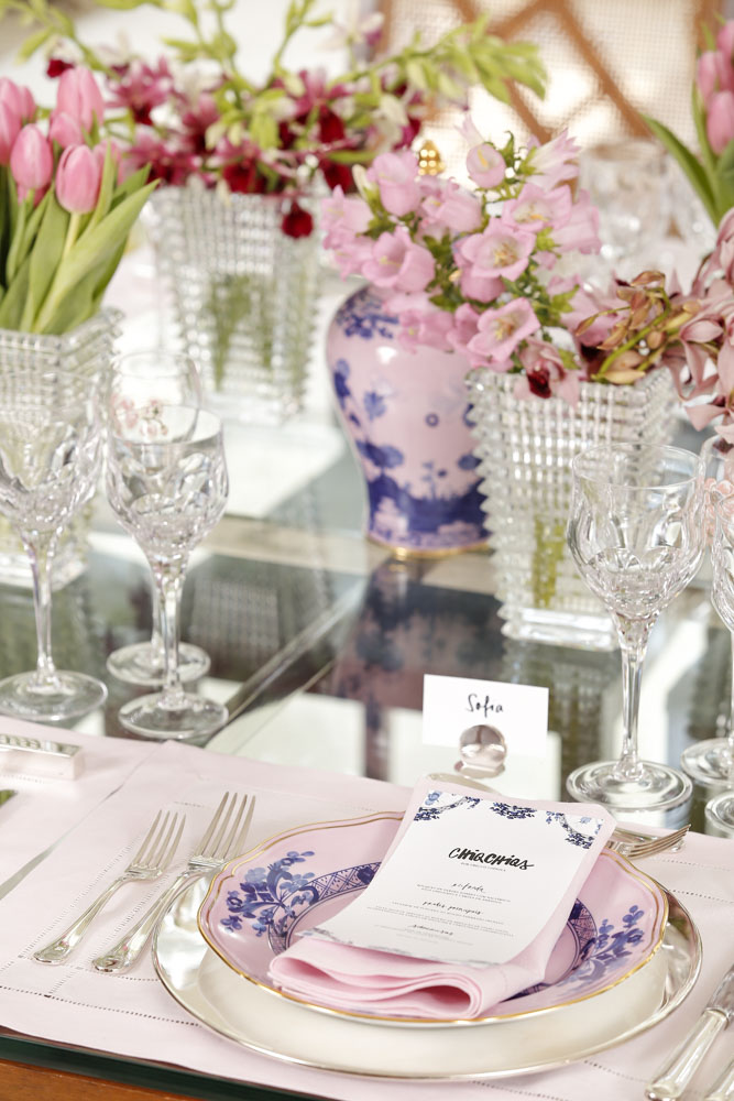 decoracao de mesa para celebrar