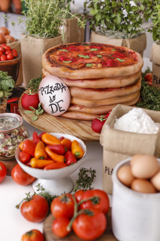 ingredientes para pizzada