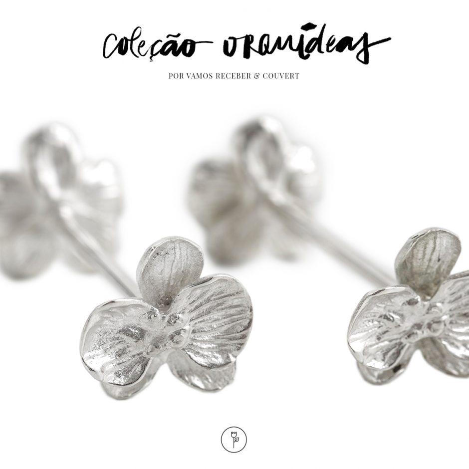 colecao orquideas marcadores de lugar e descansos de talher