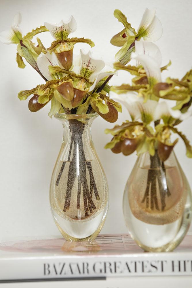 ca d'oro com orquídeas