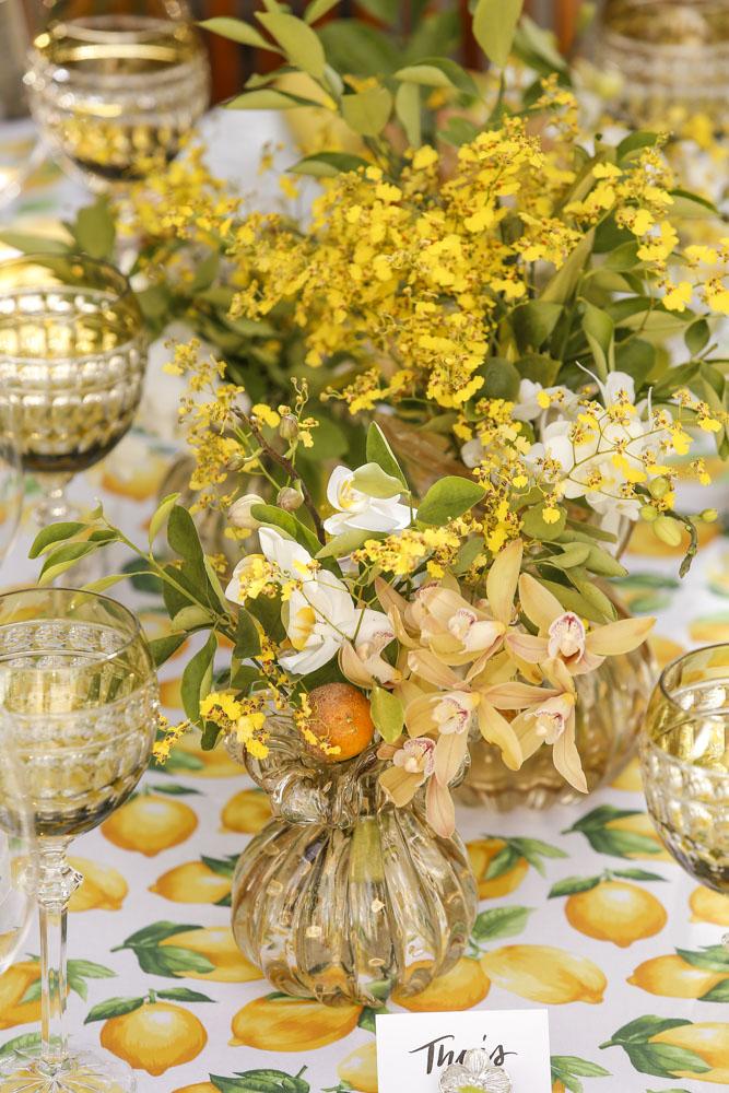 flores para decorar Marcinho Leme