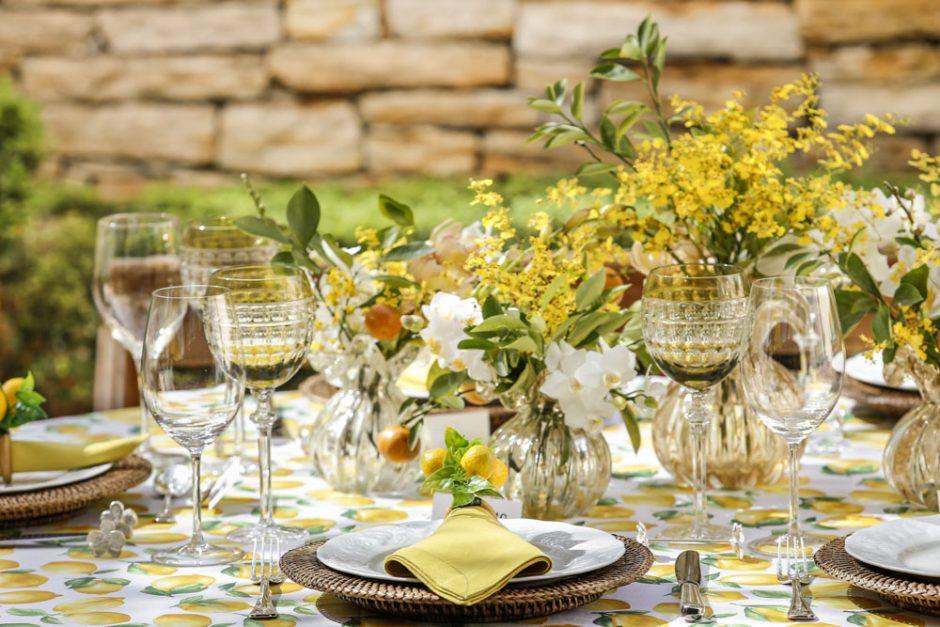 decoracao de mesa para receber amigos
