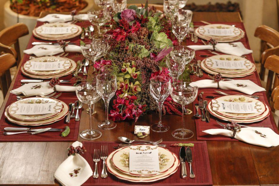 mesa para receber