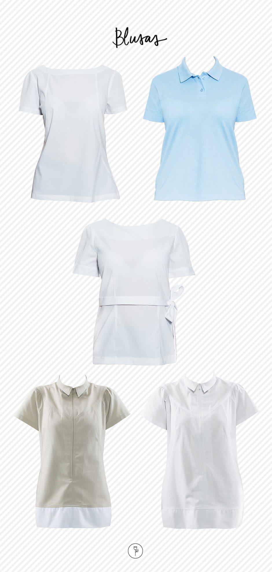 22-08 uniformes para casa - blusas