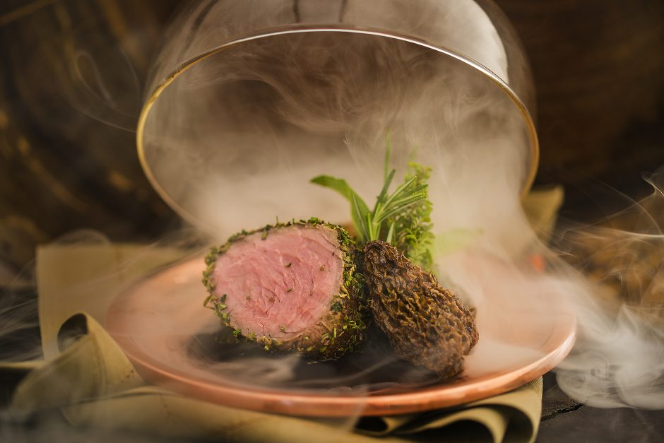 buffet zest carne defumada