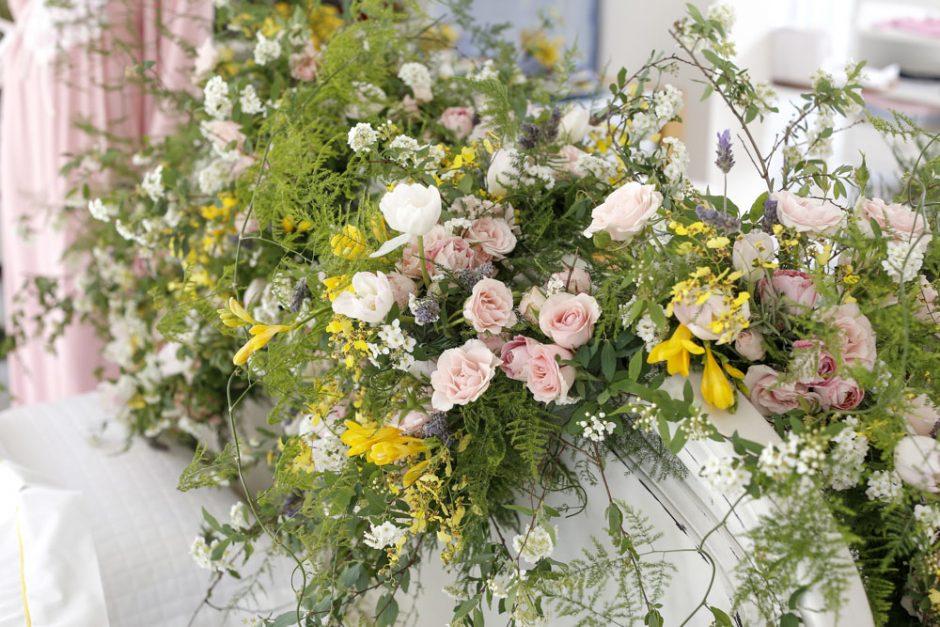 arranjo de flores Marcinho leme