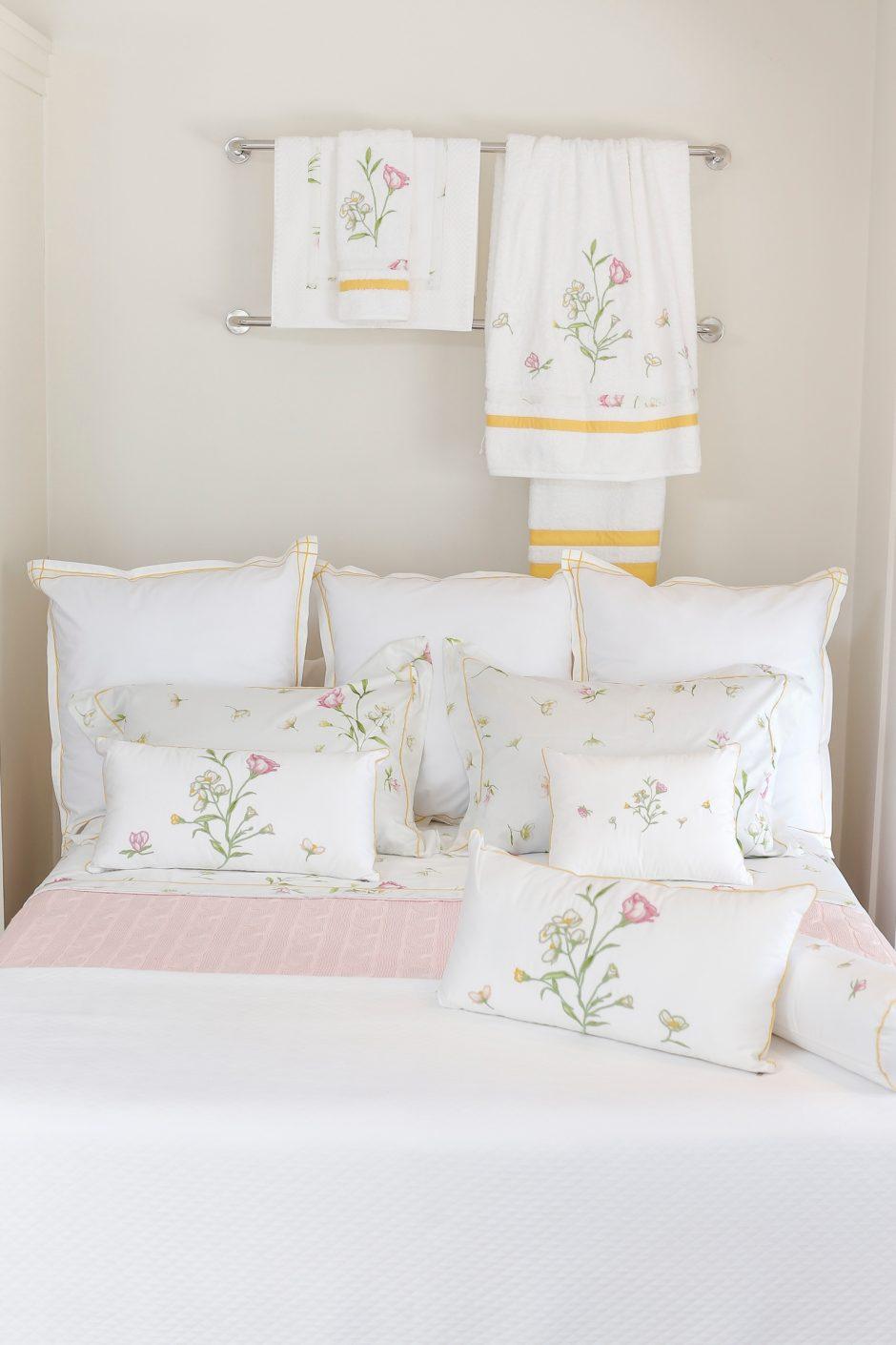 colecao de roupa de cama e banho da Valencien