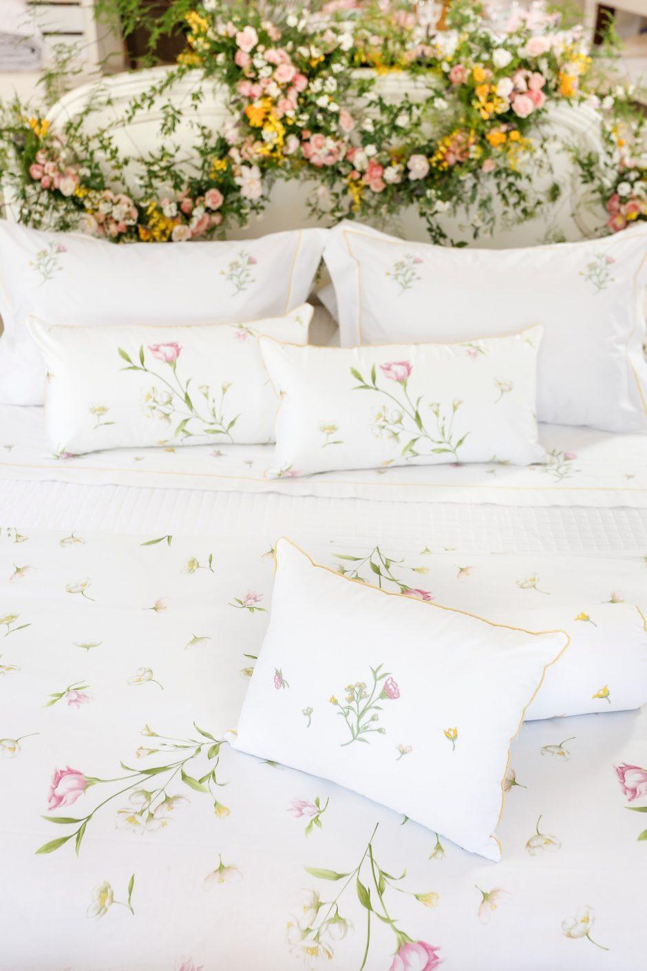 colecao de roupa de cama