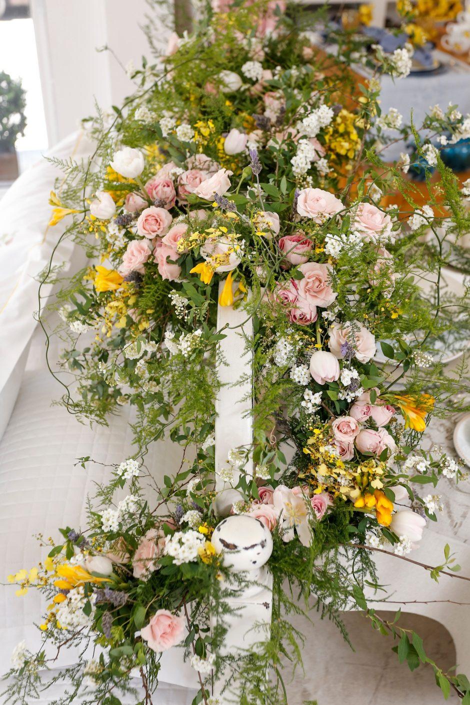 arranjo de flores da milplantas