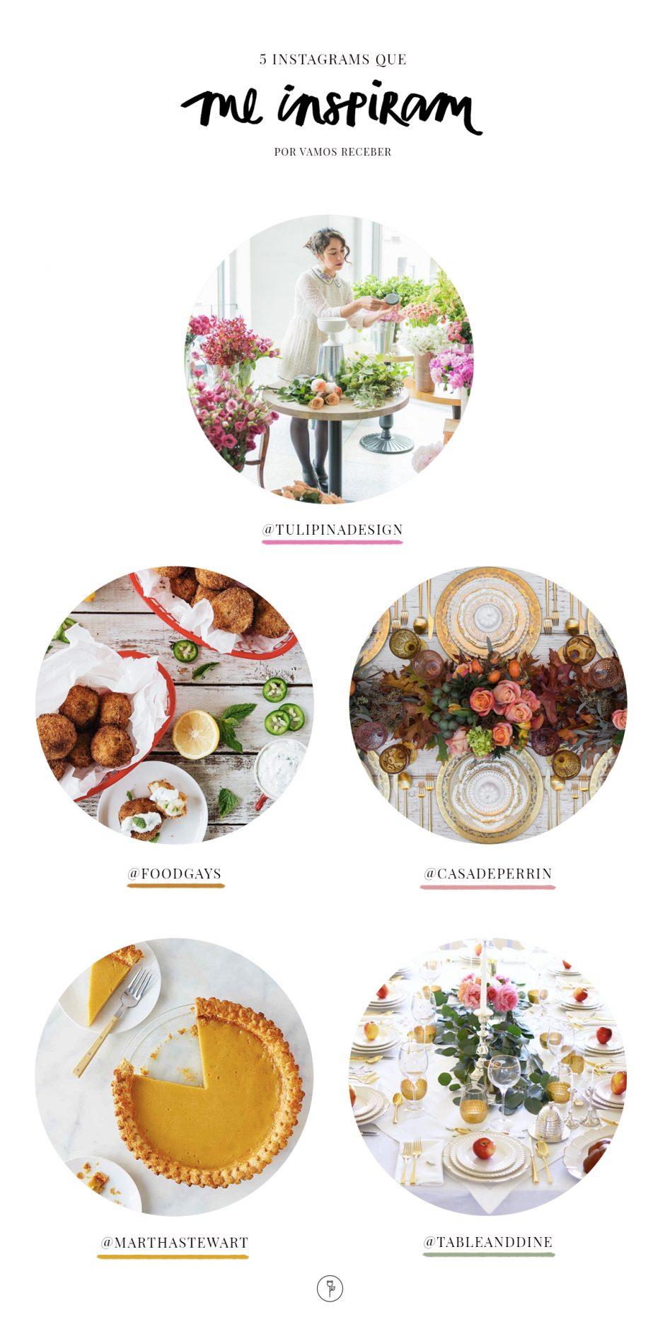 instagram de decoração e flores