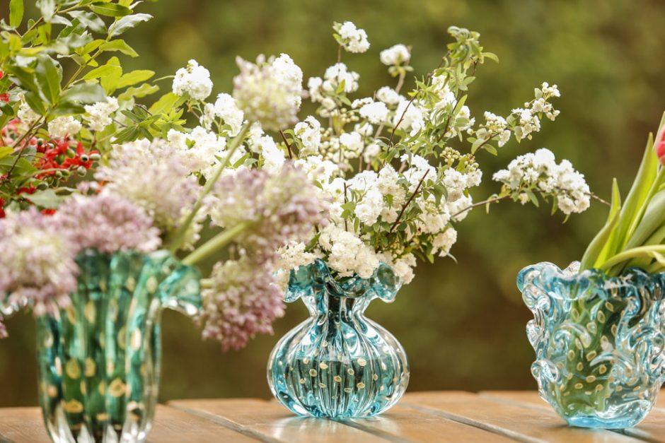 arranjos de flores em muranos Paula Bassini