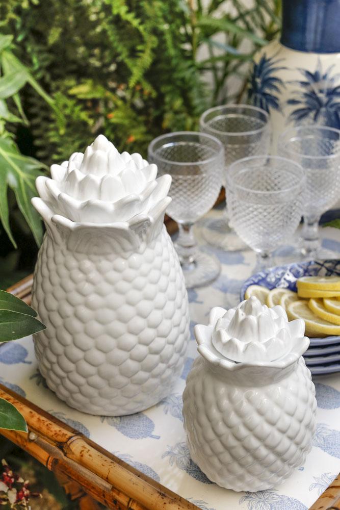 jarra em formato de abacaxi theodora home