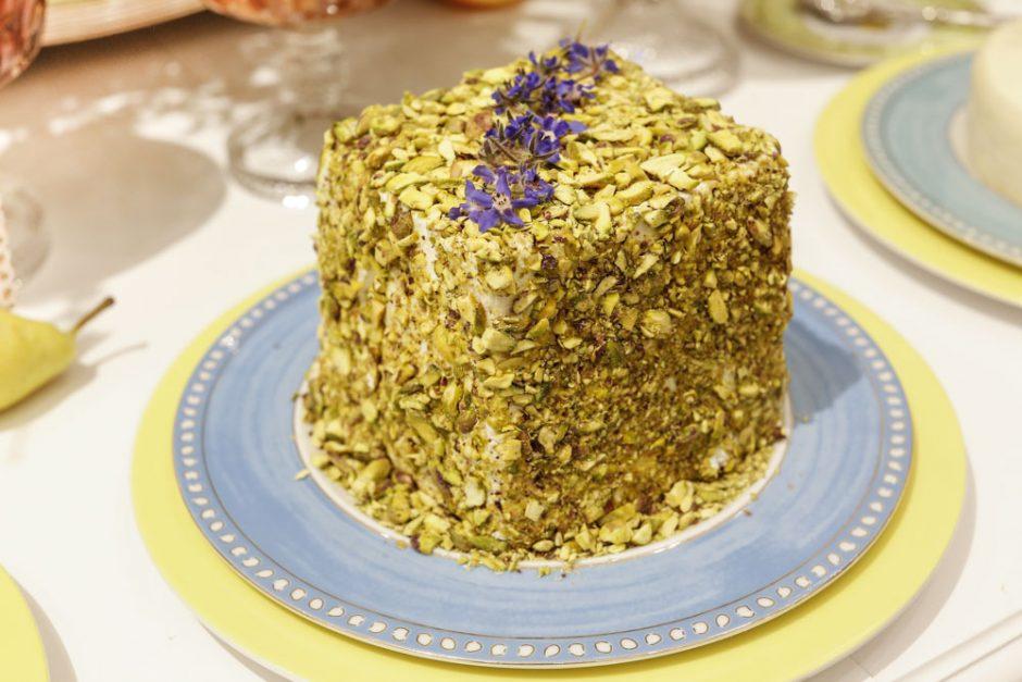 boursin com crosta de pistache