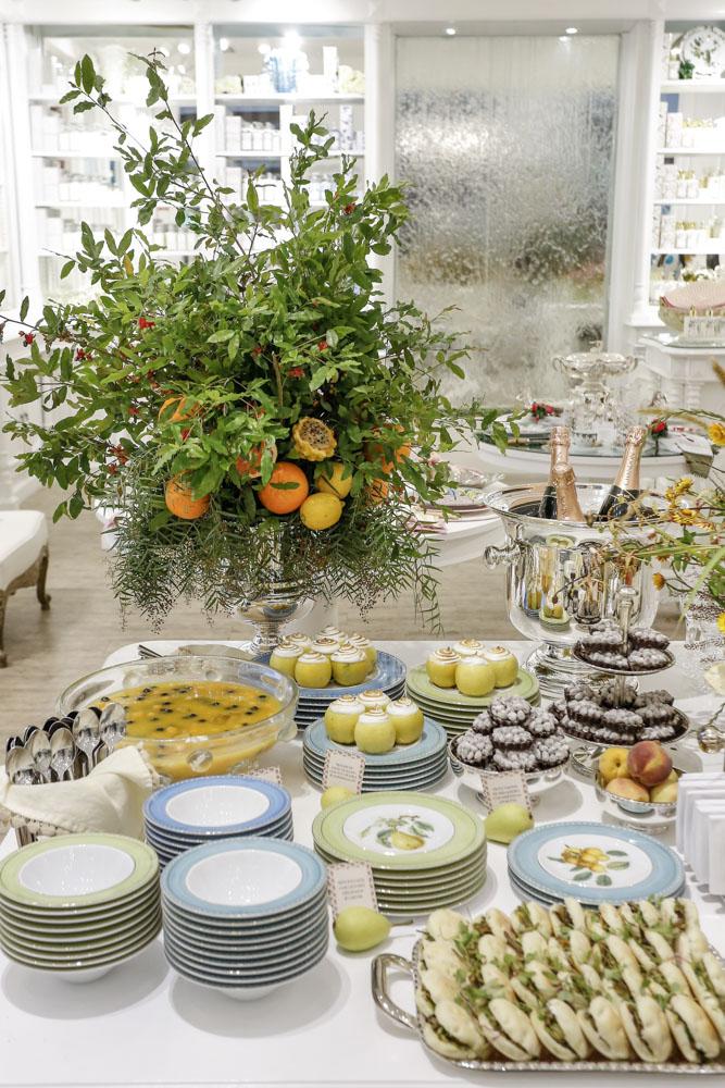 comidas do buffet zest