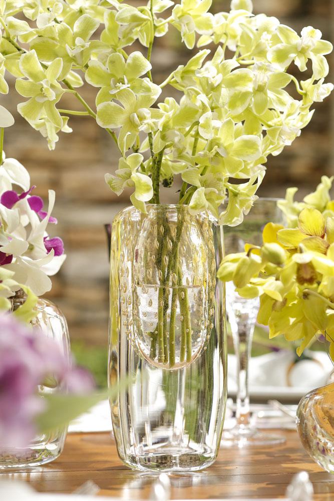 vasos de cristal cá d'oro