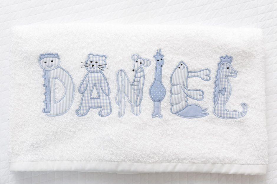 toalhas e paninhos de boca