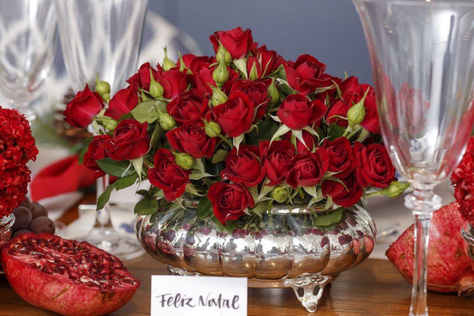 rosas vermelhas para decorar