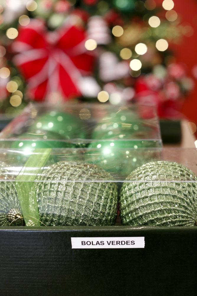 bolas verdes para arvore de natal