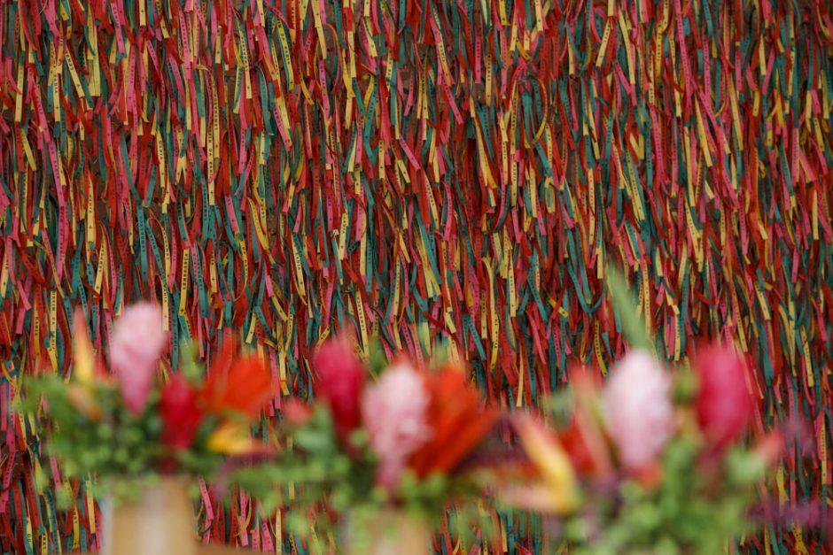 festa colorida com tema bahia