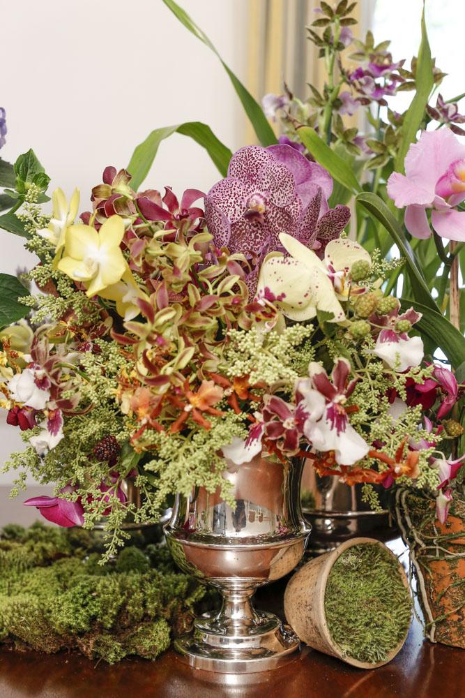 arranjos florais em vasos casa das festas