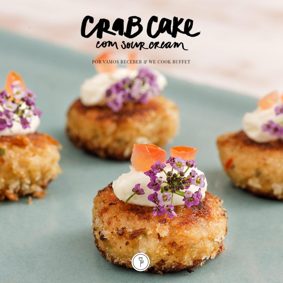 receita de crab cake